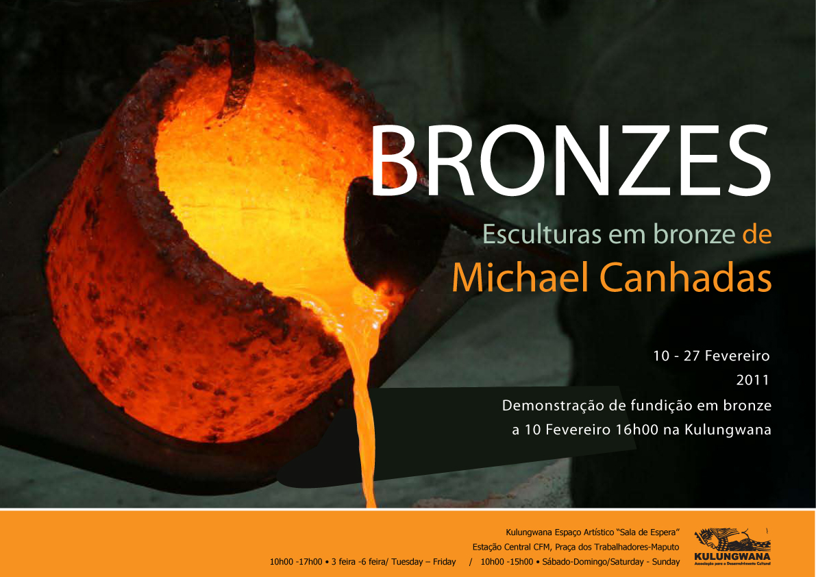 Cartaz Expo bronze